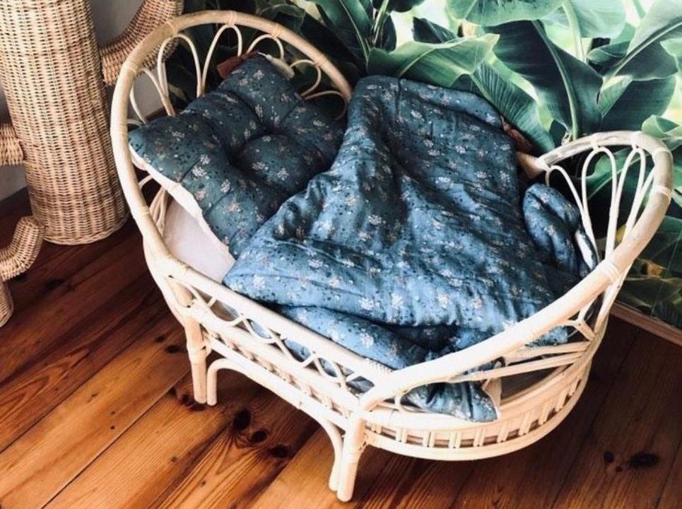 Rattan Baby Cot – Sofa
