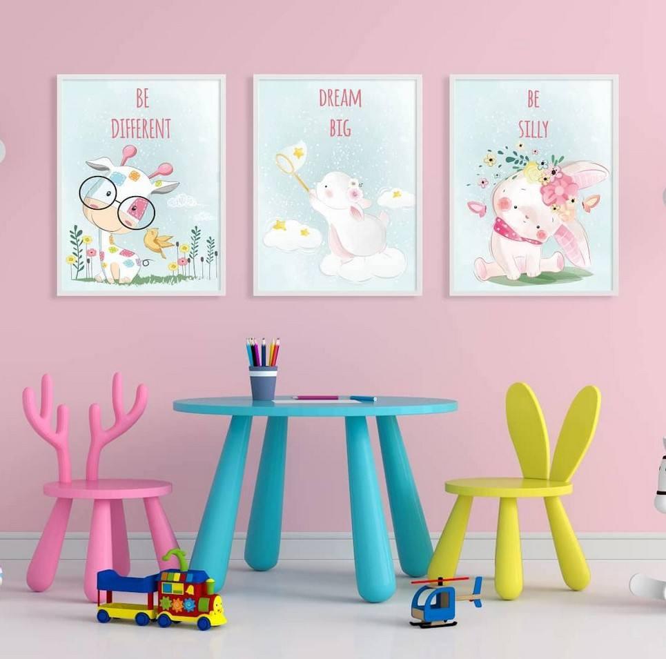 Be Anything Decorative Children Illustration Set