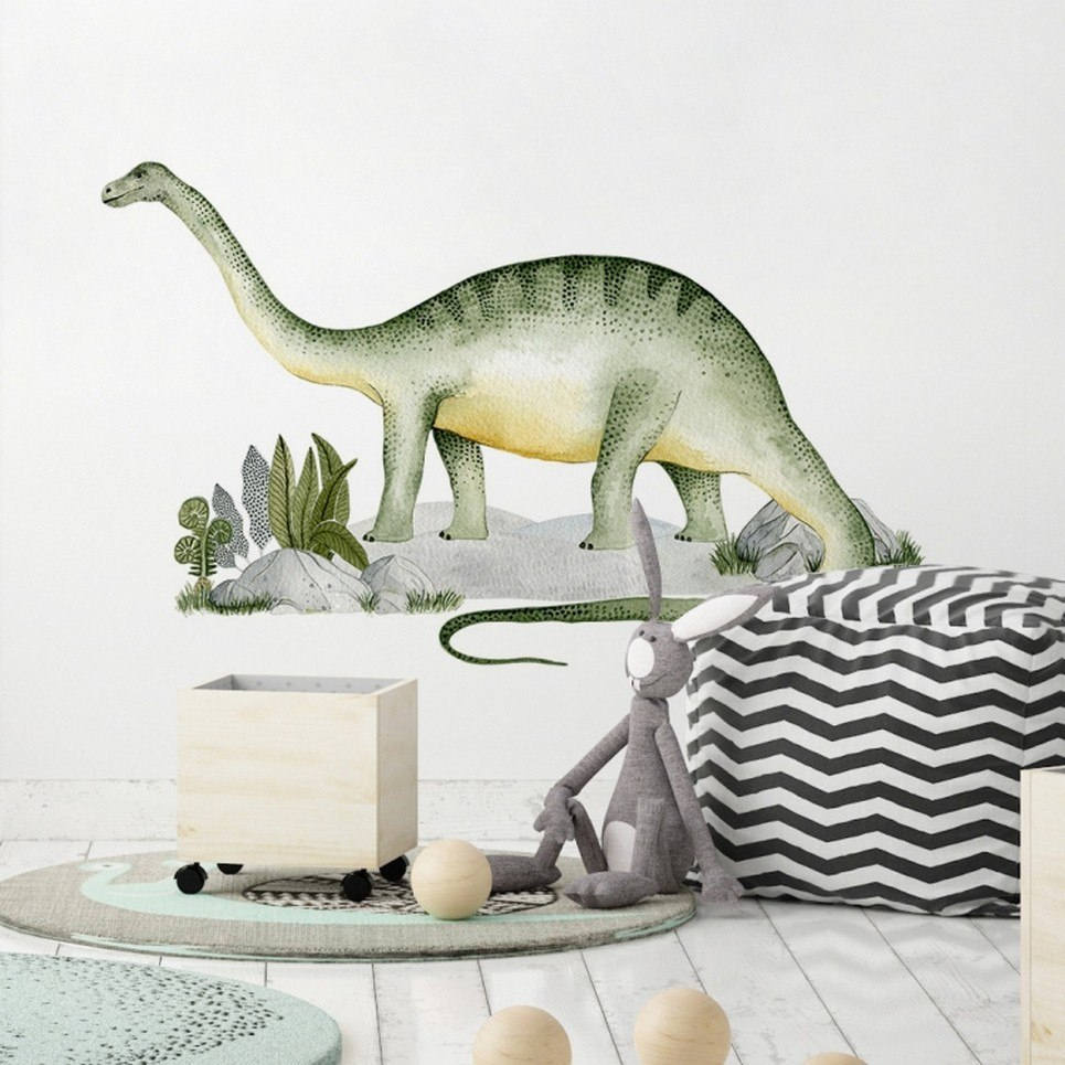 Brontosaurus Children's Wall Sticker