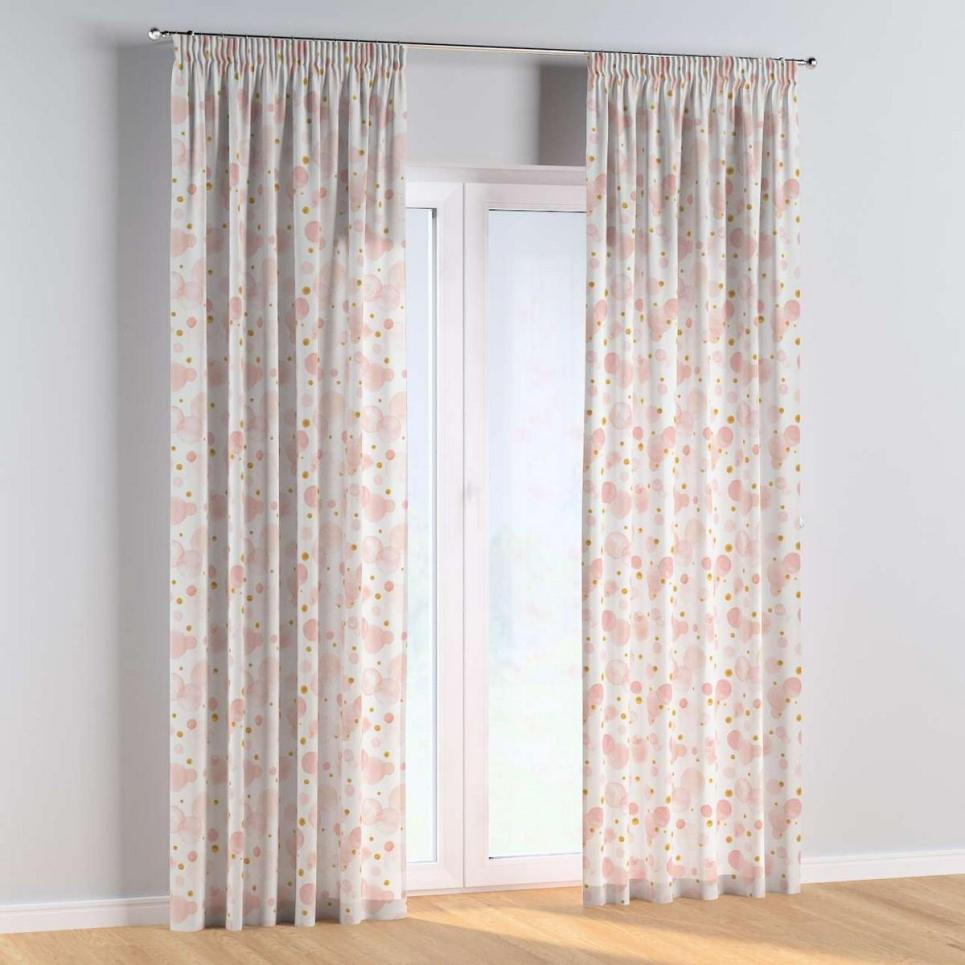 Dots and Dots Pencil Pleat Kids Curtains