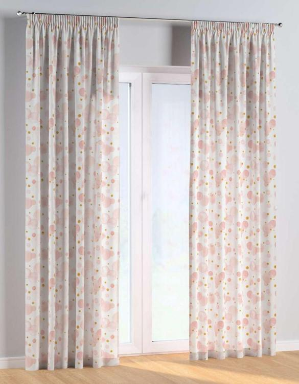 For all those early risers, the Dots and Dots Pencil Pleat Kids Curtains is truly a delightful theme for an imaginative toddler. These colourful and vibrant nursery curtains are suitable for girls, boys or toddler bedrooms.