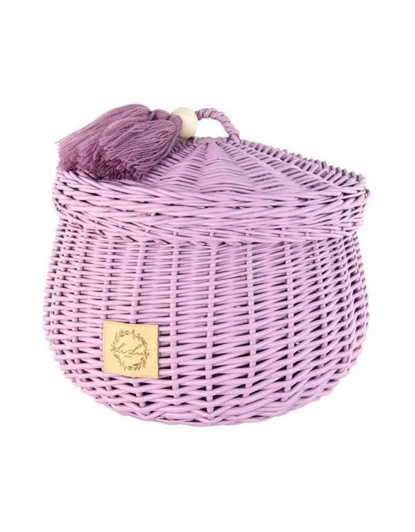 Sweet and simple, the Heather Wicker Casket with Tassels is perfect to fill with your child's favourite trinkets, or your own memories of your child's first moments. A beautiful wicker casket with tassels, carefully made by the best craftsmen, in three sizes.