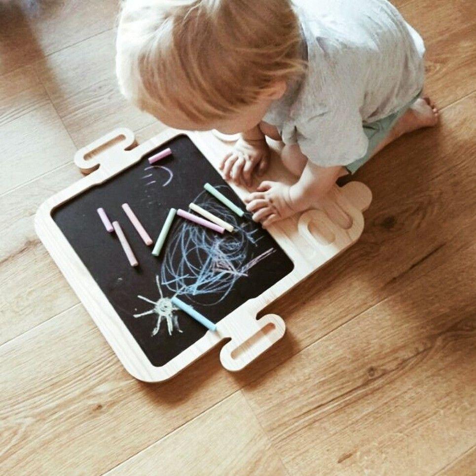 Magnetic Autobus Kids Chalkboard