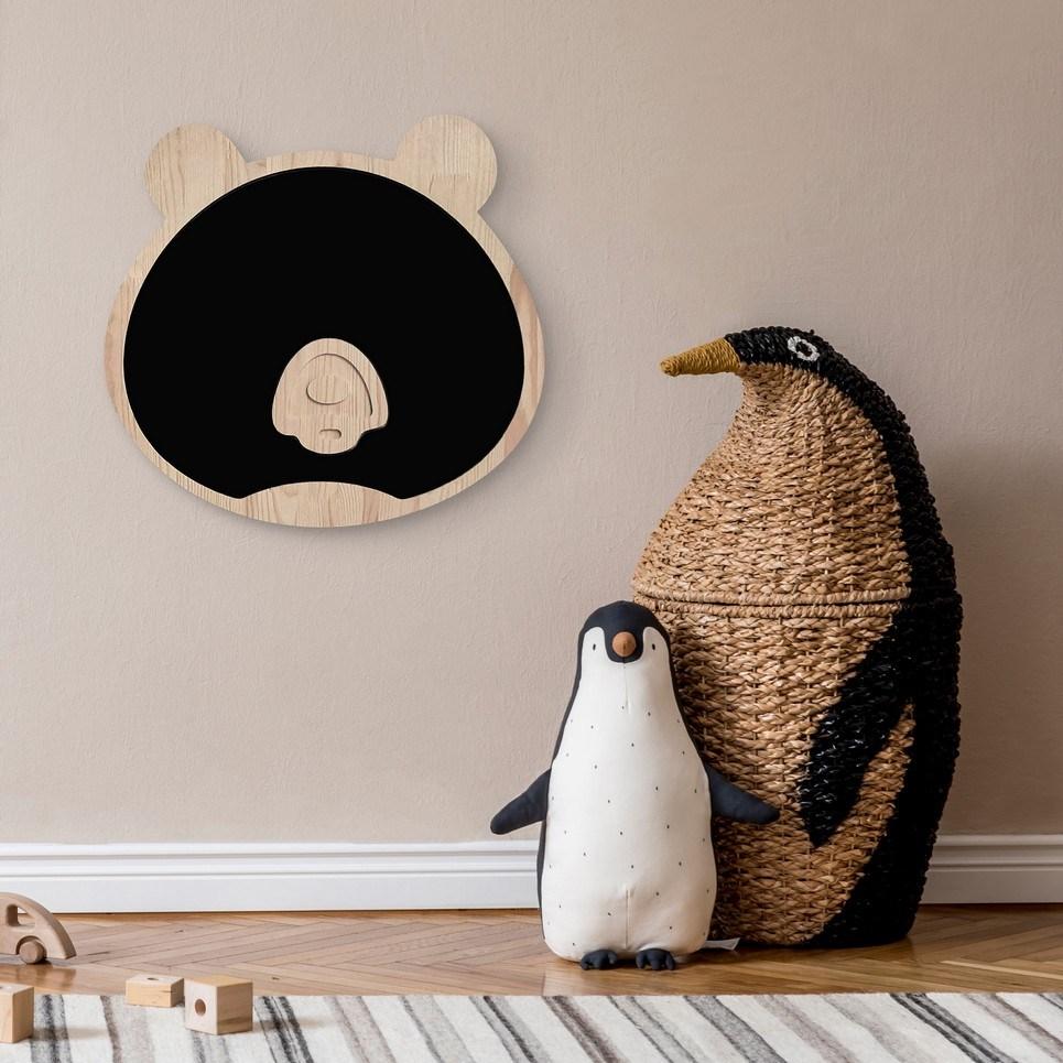 Magnetic Bear Kids Chalkboard