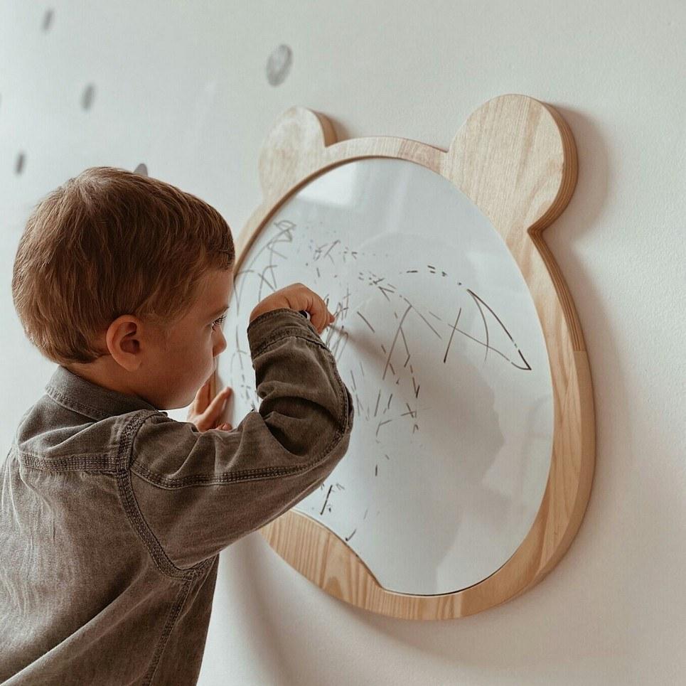 Magnetic Bear Kids Whiteboard