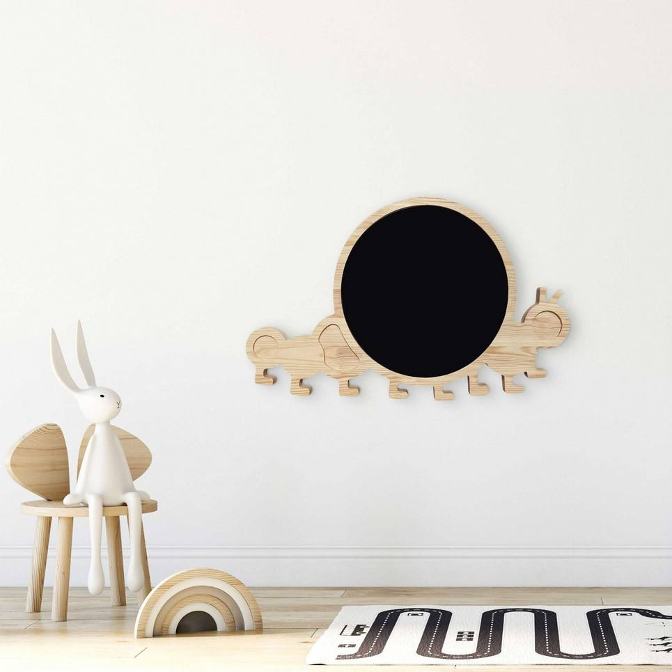 Magnetic Caterpillar Kids Chalkboard