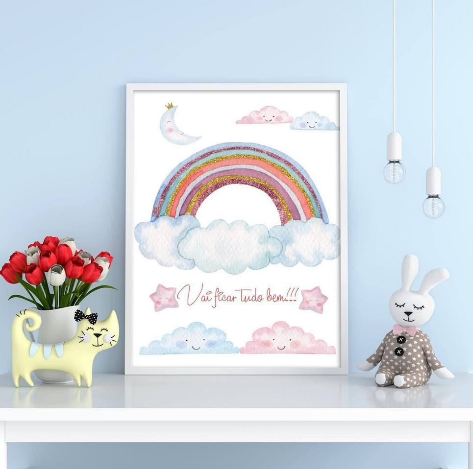 Rainbow Decorative Children Illustration