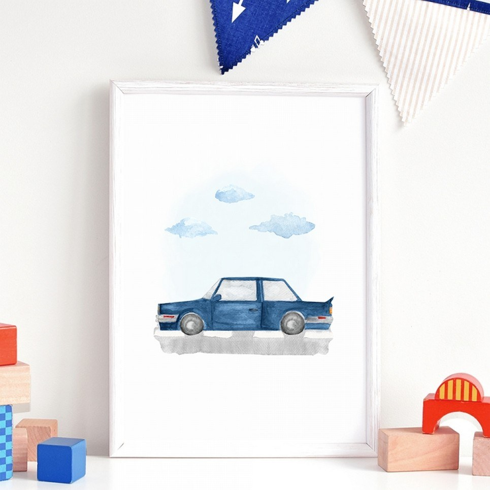 BMW Children's Poster