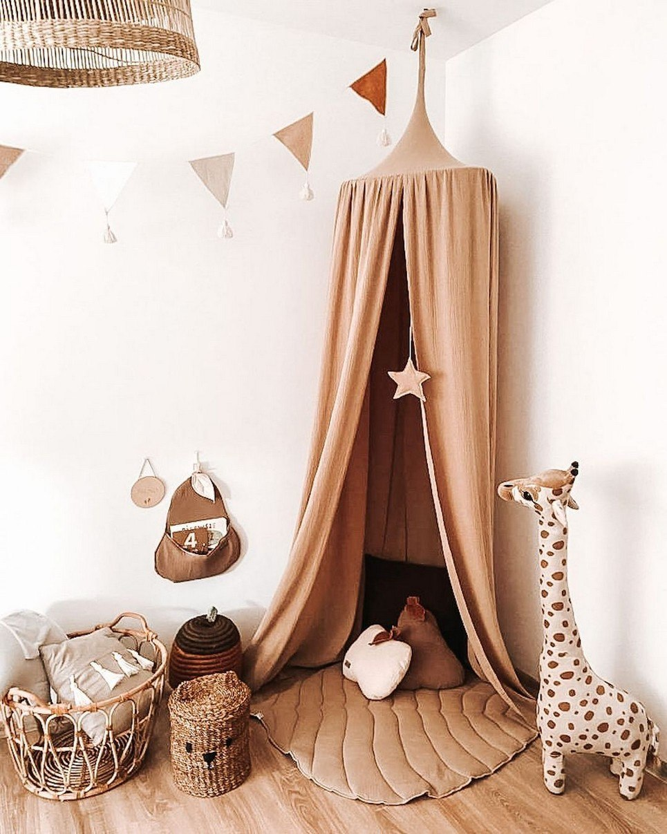 Baldachin Beige Children's Bed Canopy