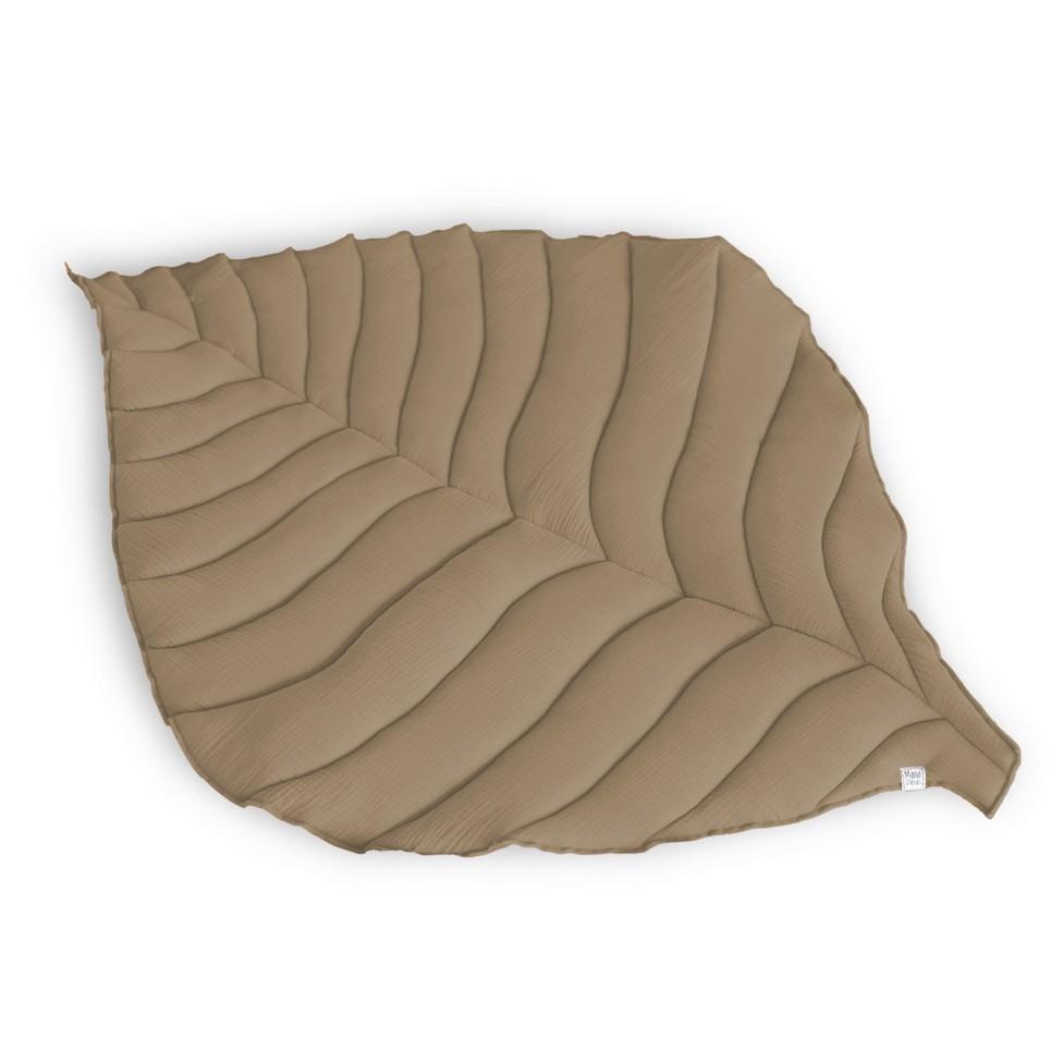 Beige Leaf Play Mat