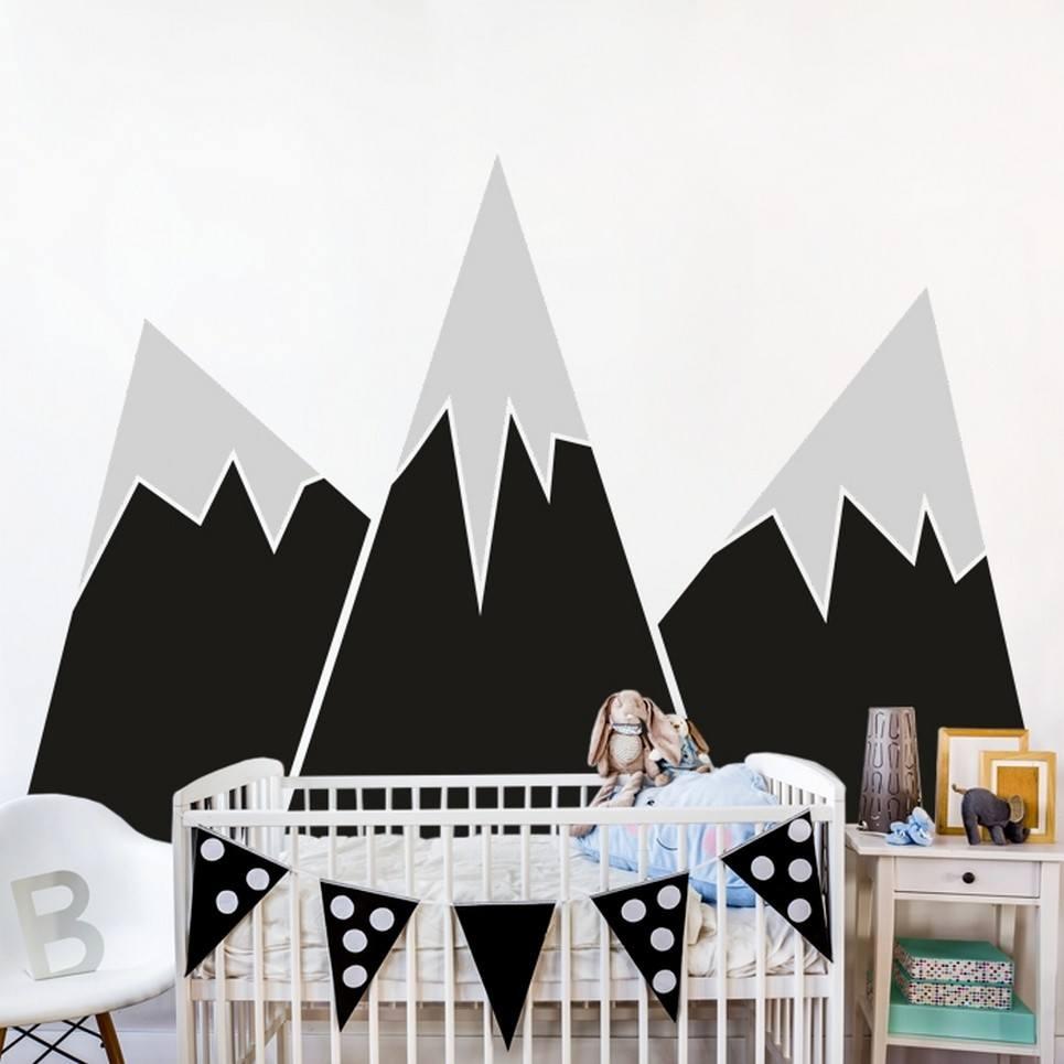 Big Mountains Children's Wall Sticker