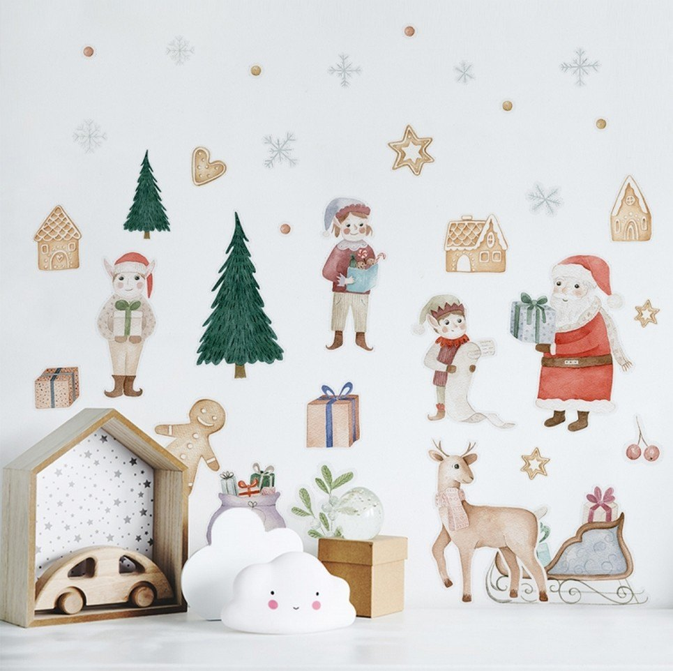 Christmas Gifts Children's Wall Sticker