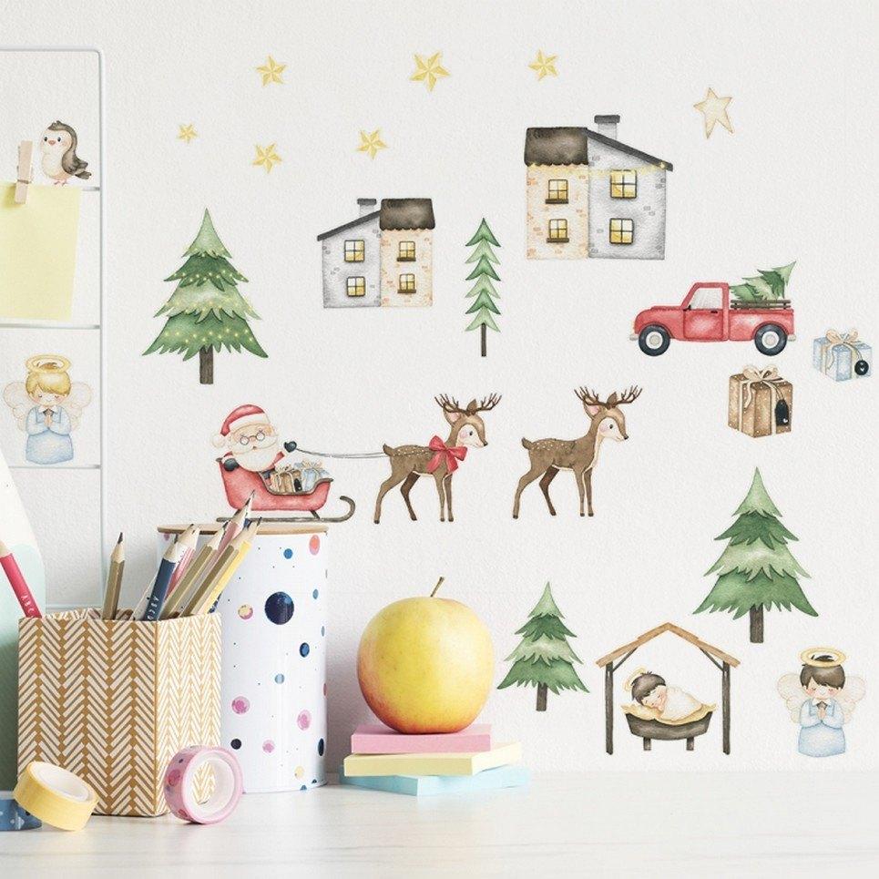Christmas Season Children's Wall Sticker