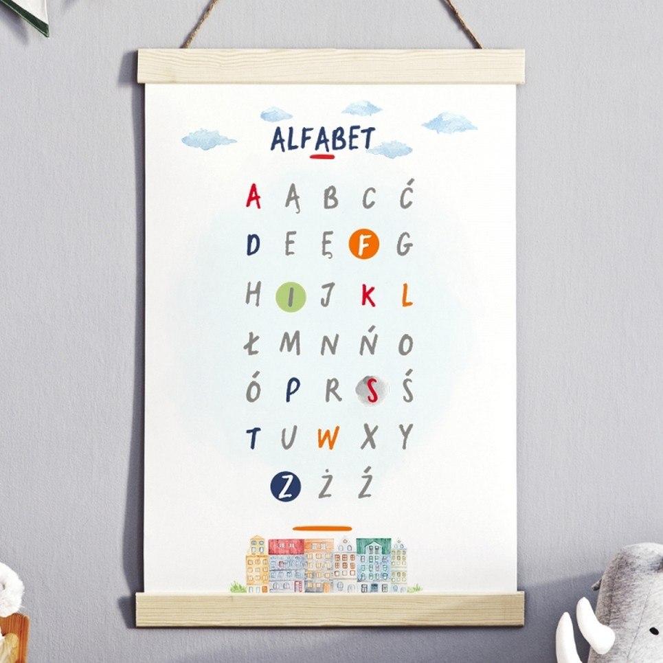 Cool City Alphabet Children's Poster