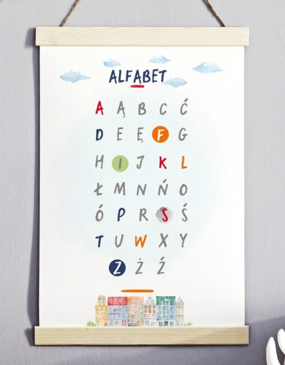 A unique keepsake that will create enchanting memories, the Cool City Alphabet Children's Poster is a really unique and eyecatching print that is loved by kids and adults. Encourage their wild side with this fun print. Designed in a playful font, they will make a great addition to any nursery, child's room, or playroom.