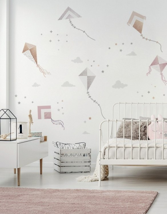 A beautiful scene for children's rooms and nurseries, the Cute Kite Flying Children's Wall Sticker is the perfect addition to any empty space (like walls or furniture). These wall stickers provide a flexible and cost-effective way to decorate your home.