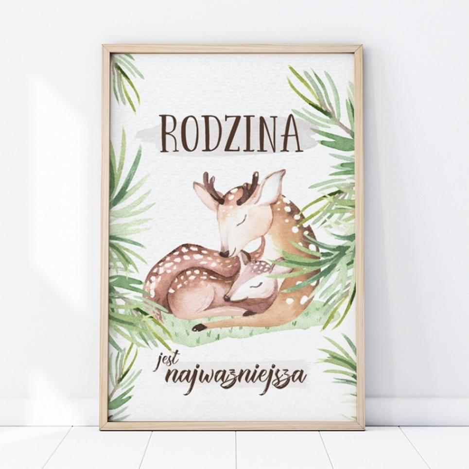 Family Children's Poster