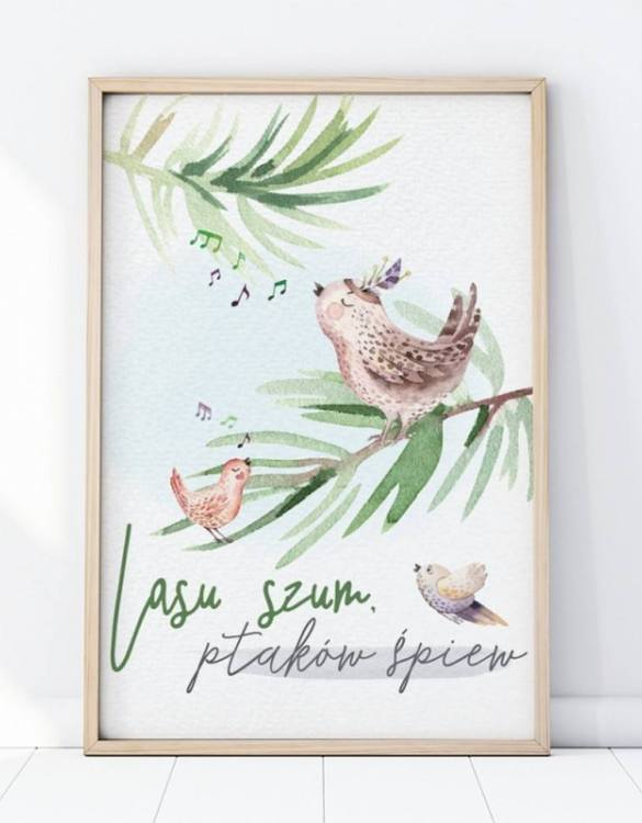 A unique keepsake that will create enchanting memories, the Forest Noise Children's Poster is a really unique and eyecatching print that is loved by kids and adults. Encourage their wild side with this fun print. Designed in a playful font, they will make a great addition to any nursery, child's room, or playroom.