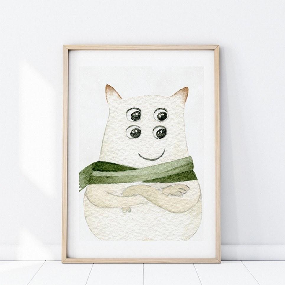 Kazik Creature Children's Poster