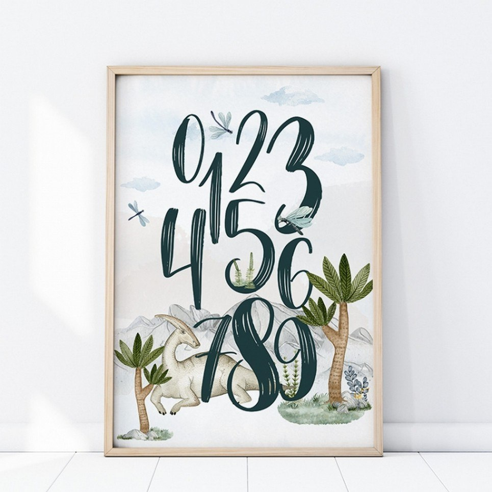 Numbers Children's Poster