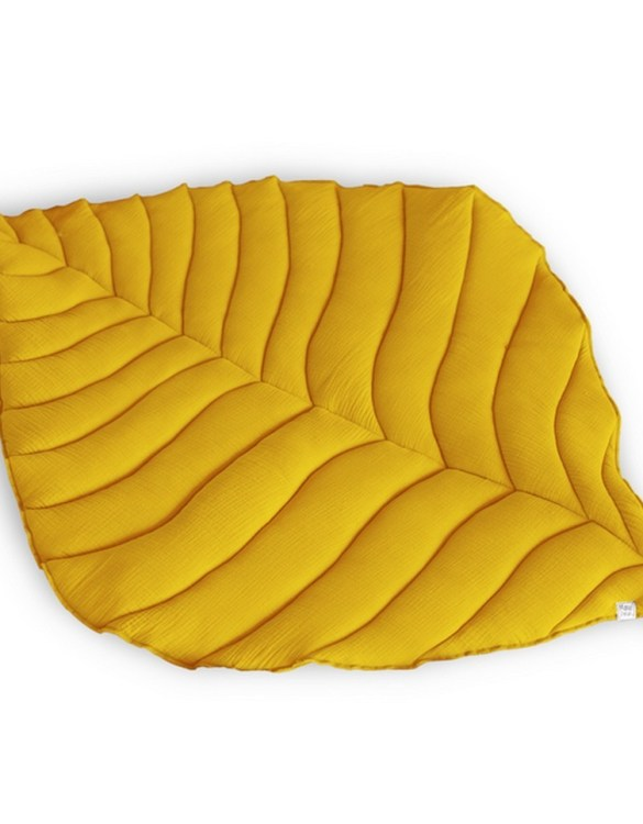 Beautifully soft, the Ochre Leaf Play Mat can be used for babies to lay on for tummy time or sensory play. A young mind is guaranteed to be amused for hours, exploring and discovering new senses and textures.