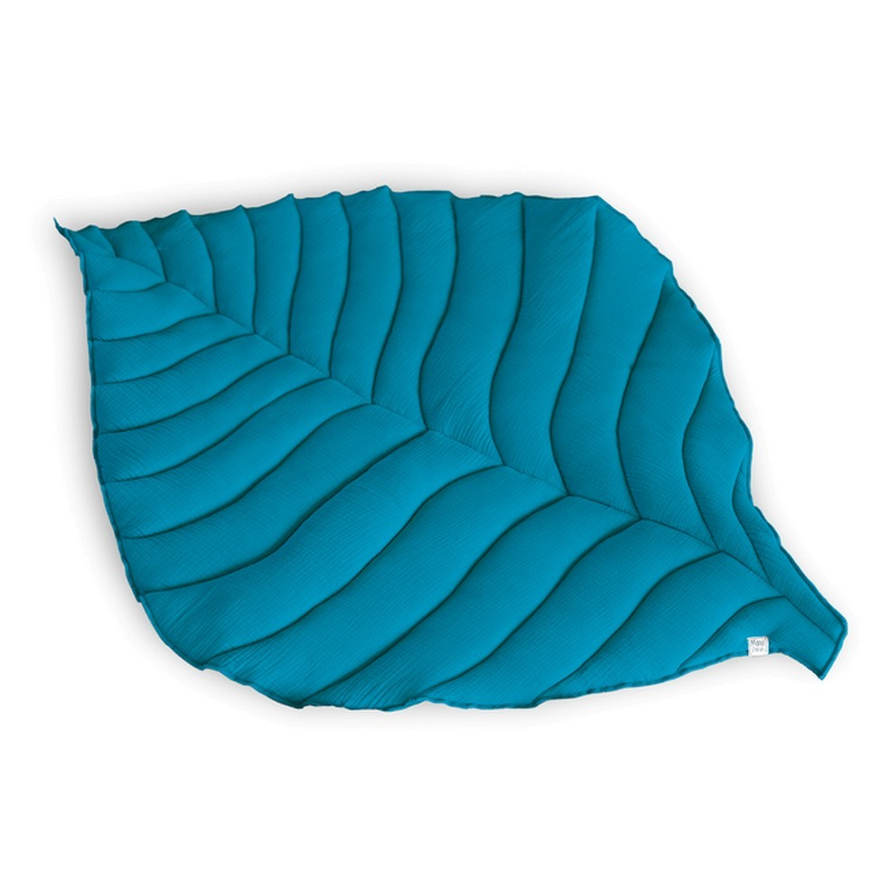 Petrol Leaf Play Mat