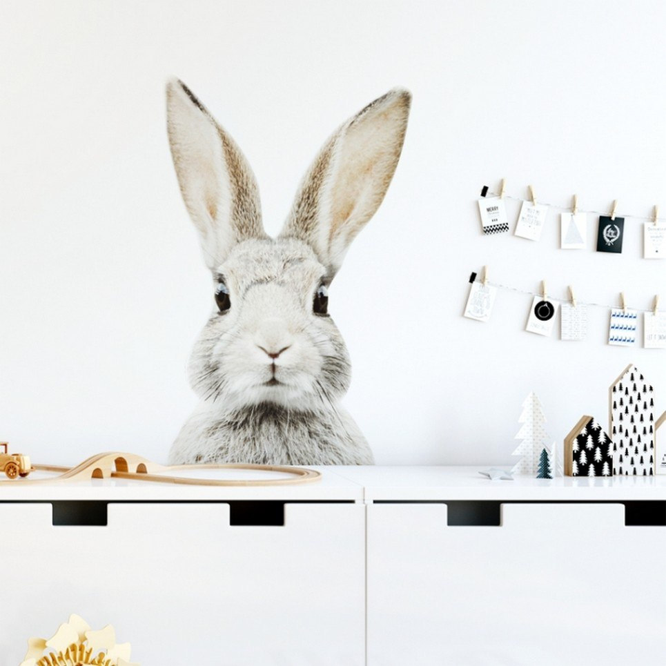 Stefan Rabbit Children's Wall Sticker