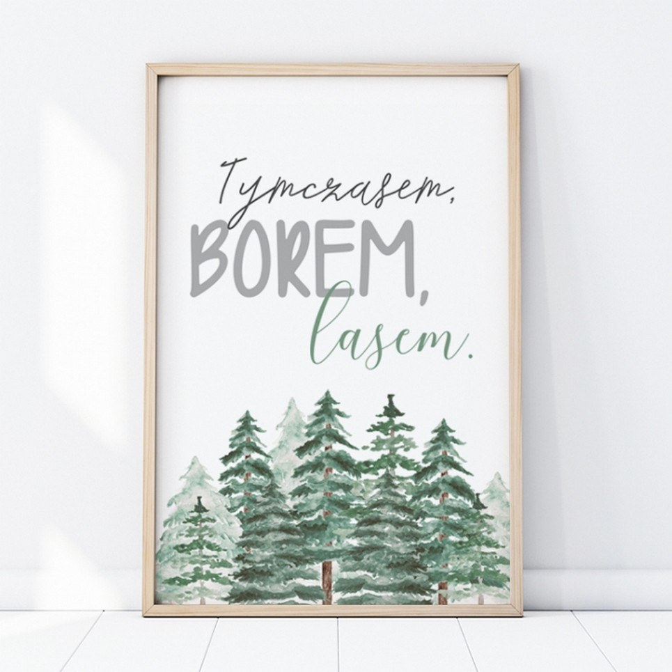 Therefore The Forest Children's Poster