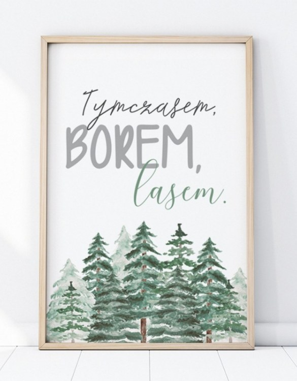 A unique keepsake that will create enchanting memories, the Therefore The Forest Children's Poster is a really unique and eyecatching print that is loved by kids and adults. Encourage their wild side with this fun print. Designed in a playful font, they will make a great addition to any nursery, child's room, or playroom.