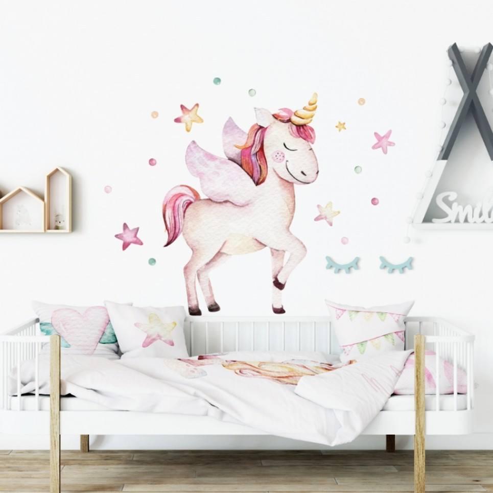 Unicorn Children's Wall Sticker