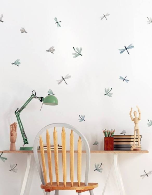 A beautiful scene for children's rooms and nurseries, the Wazki Children's Wall Sticker is the perfect addition to any empty space (like walls or furniture). Time to travel back to the time when dinosaurs ruled the Earth!