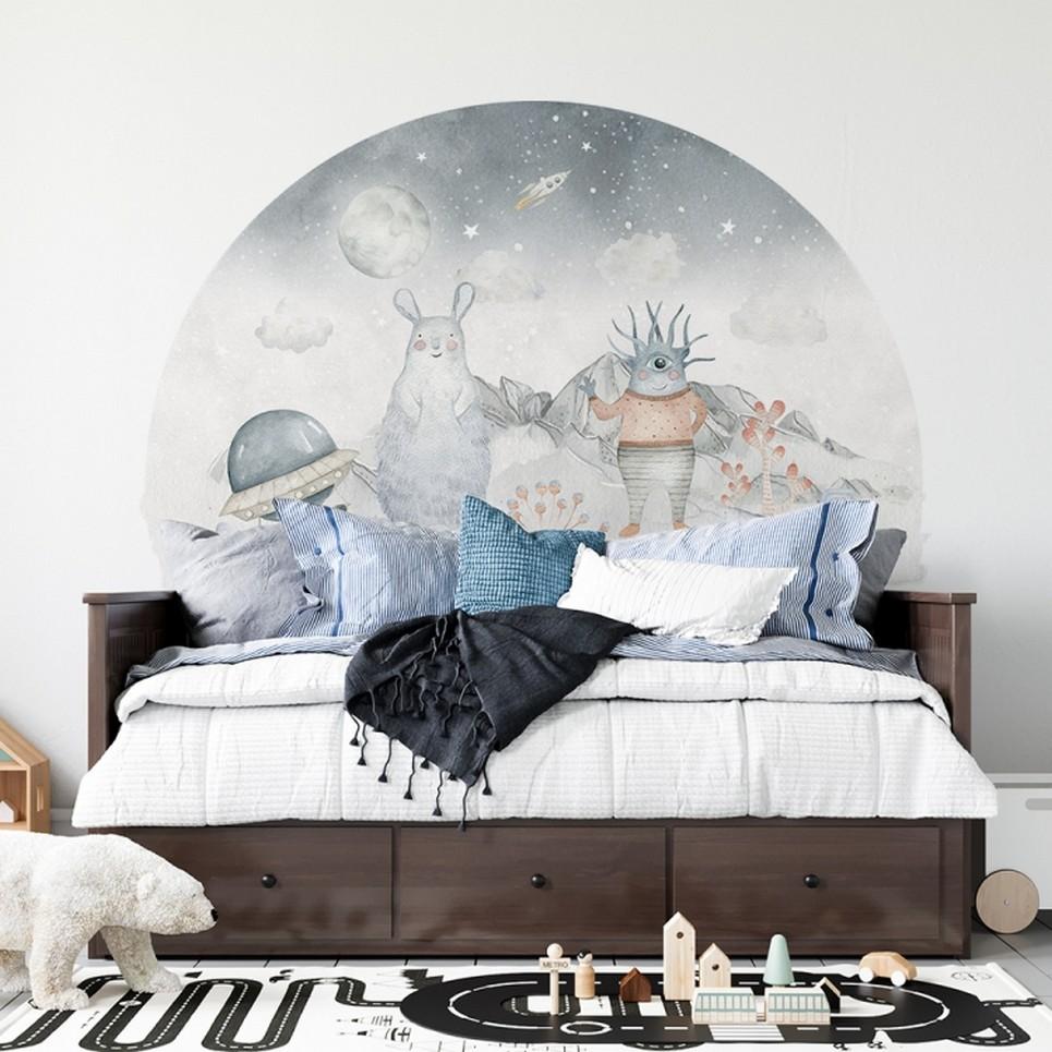 Bed Kedziorek and Tolek Children's Wall Sticker