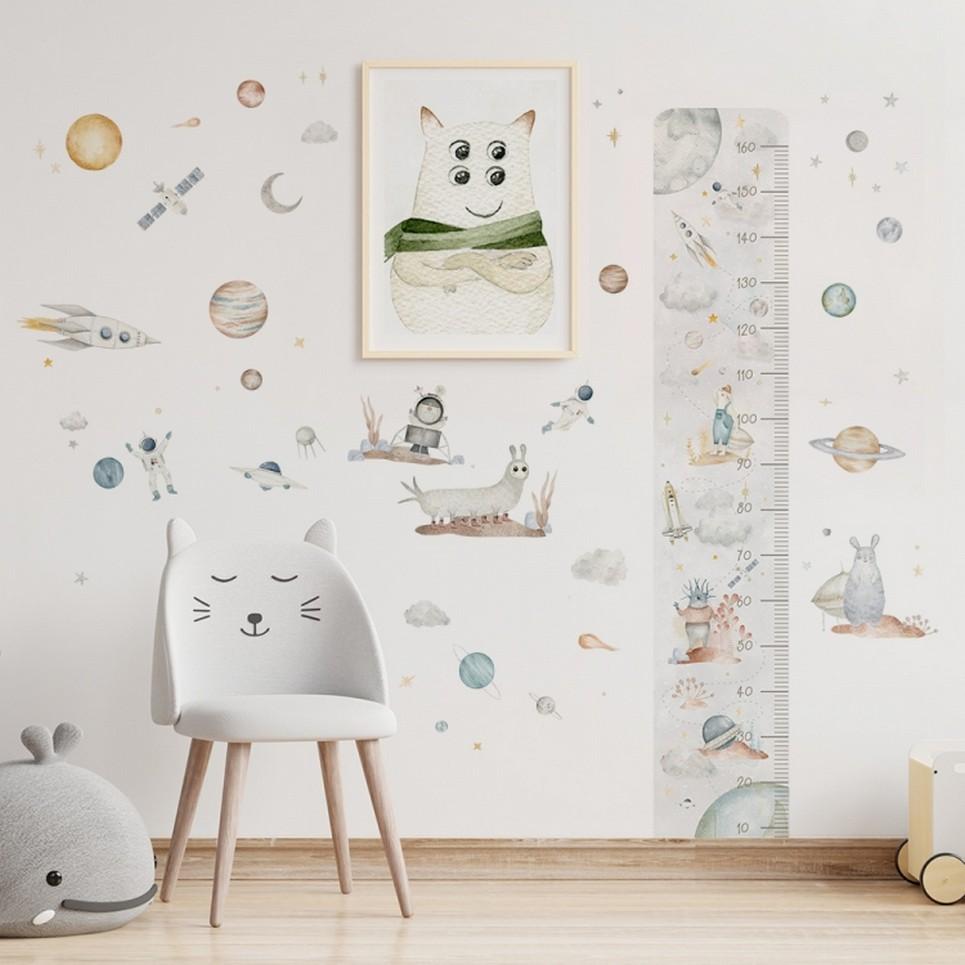 Cosmic Set Children's Wall Sticker