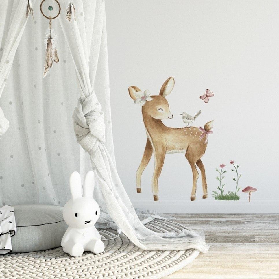 Cute Deer Children's Wall Sticker