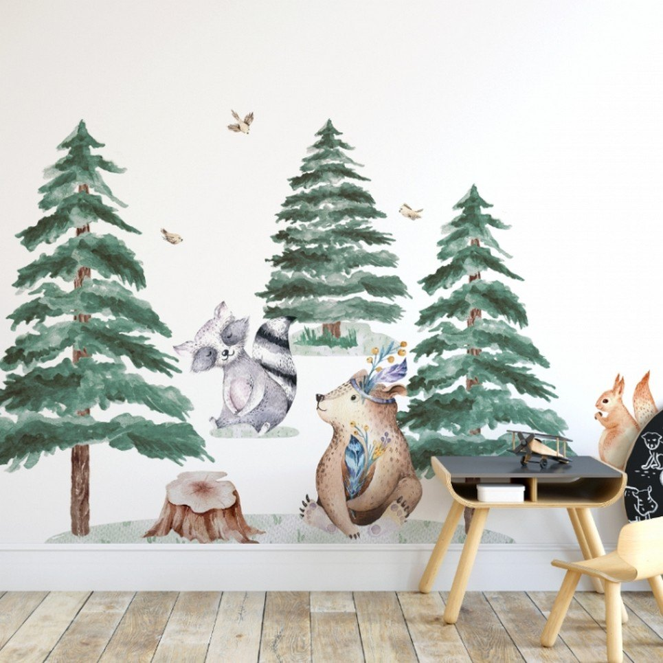 Forest Animals Children's Wall Sticker