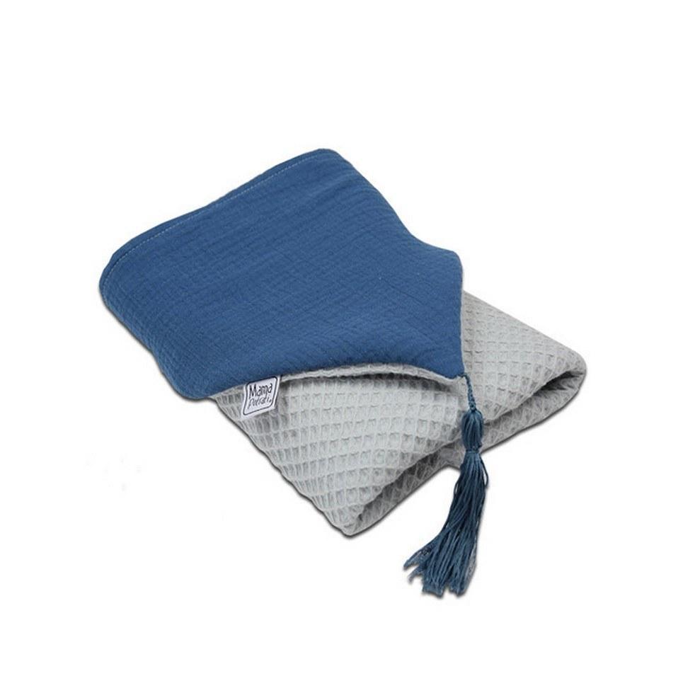 Hooded Towel Dark Blue