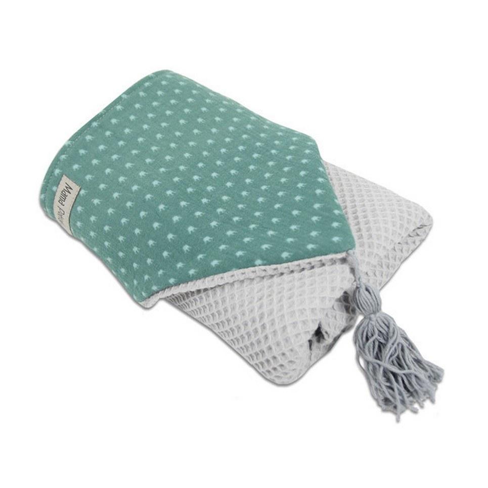 Hooded Towel Green Crown