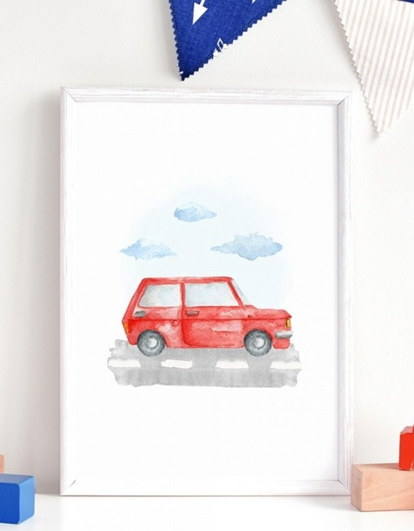 A unique keepsake that will create enchanting memories, the Maluch Children's Poster is a really unique and eyecatching print that is loved by kids and adults. Encourage their wild side with this fun print. Designed in a playful font, they will make a great addition to any nursery, child's room, or playroom.