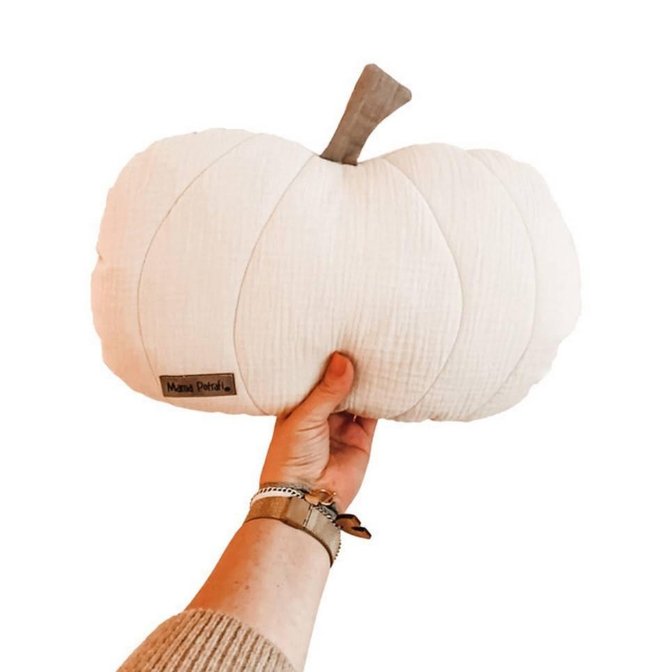 Pumpkin Pillow Light Beige