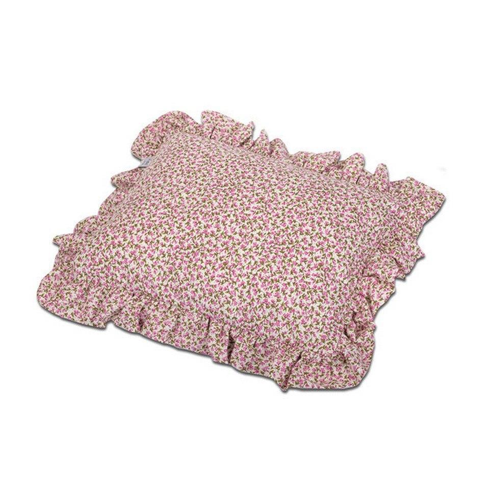Ruffle Flowers Children's Pillow