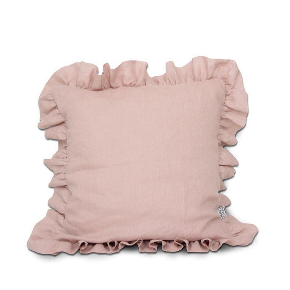 Ruffle Linen Children's Pillow