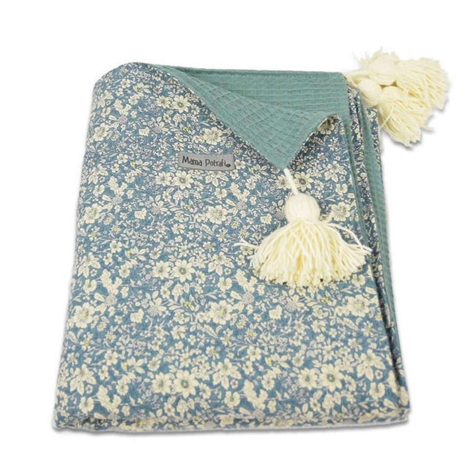 Sage Green Soft Baby Blanket