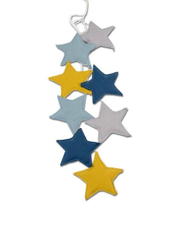 The ideal gift for a new baby or a Christening present, the Star Garland Milky Way makes a fab addition to a party or a little one's room. A gentle garland will decorate your nursery room and contribute to the development of the baby.