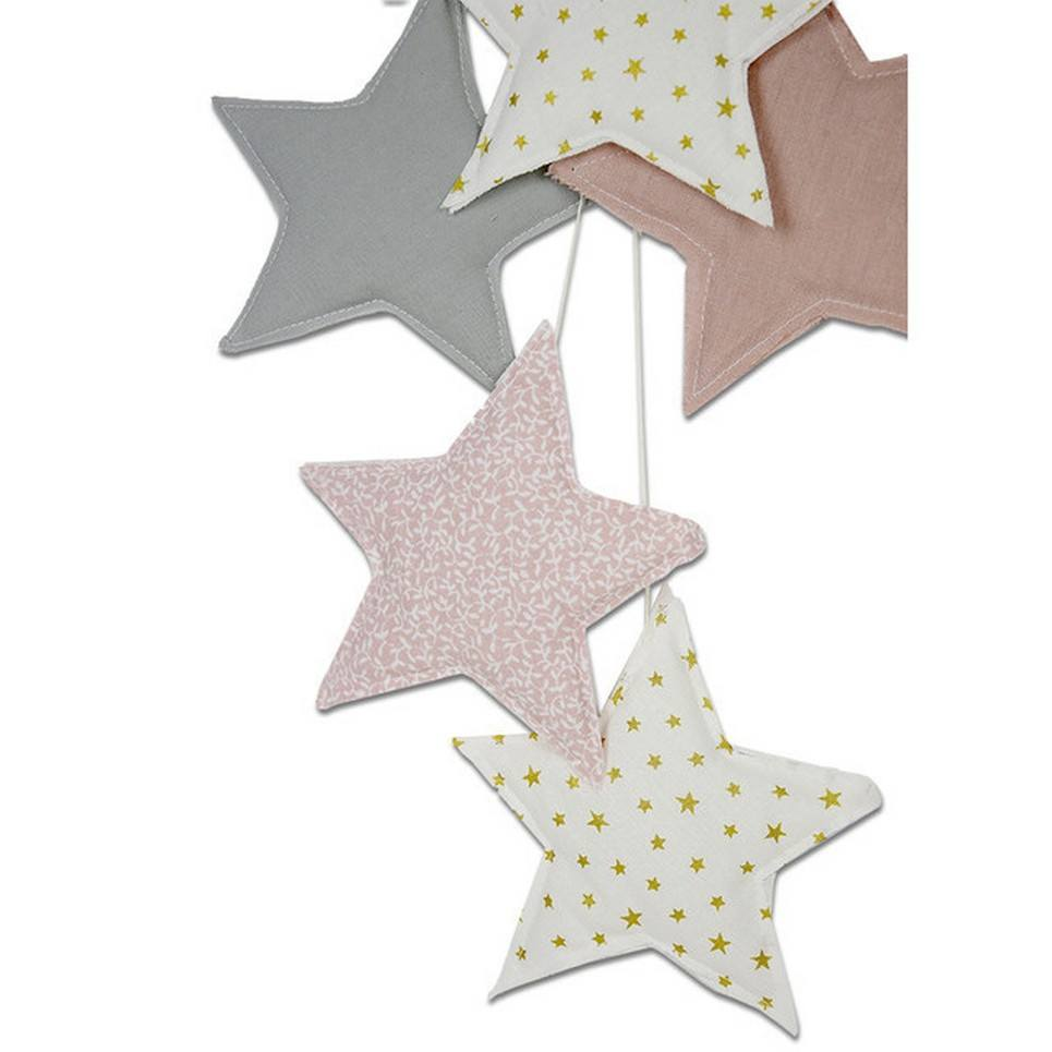 Star Garland Powder Pink