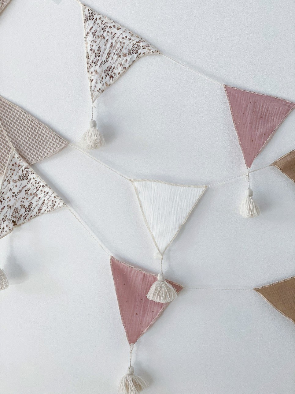 Triangle Bunting Dusty Pink