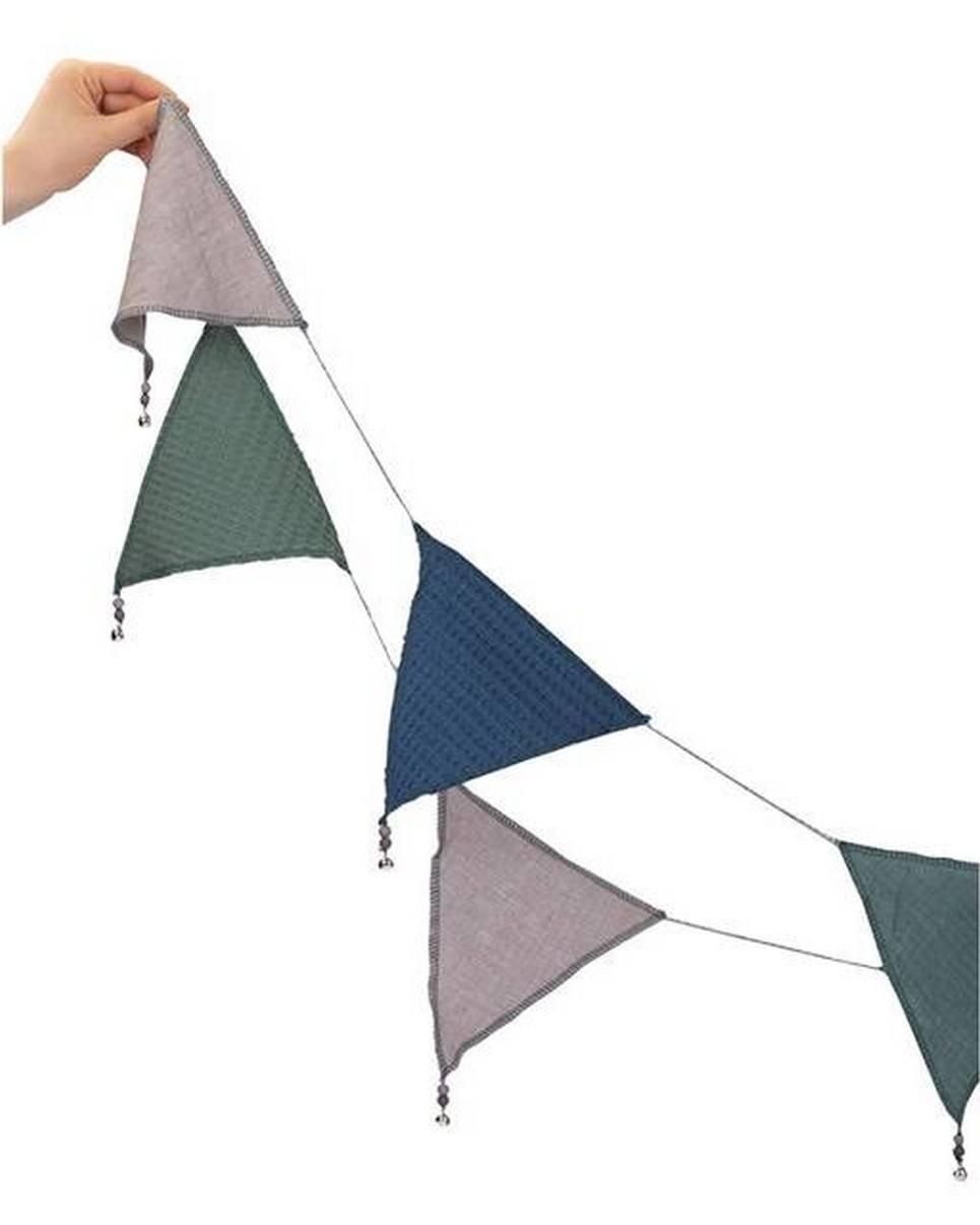 Triangle Bunting Sage Green