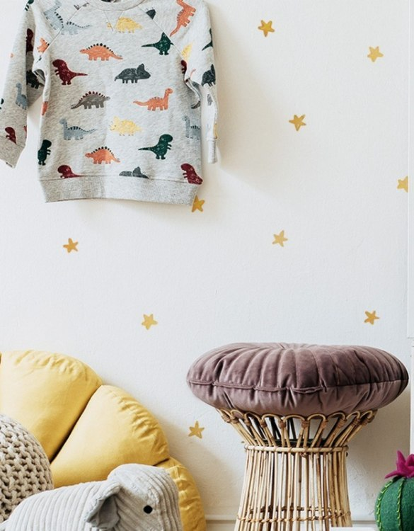 A beautiful scene for children's rooms and nurseries, the Watercolor Stars Children's Wall Sticker is the perfect addition to any empty space (like walls or furniture). These wall stickers provide a flexible and cost-effective way to decorate your home.