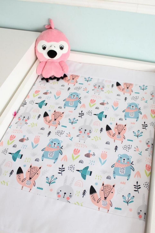 Girl Bears Waterproof Winding Mat