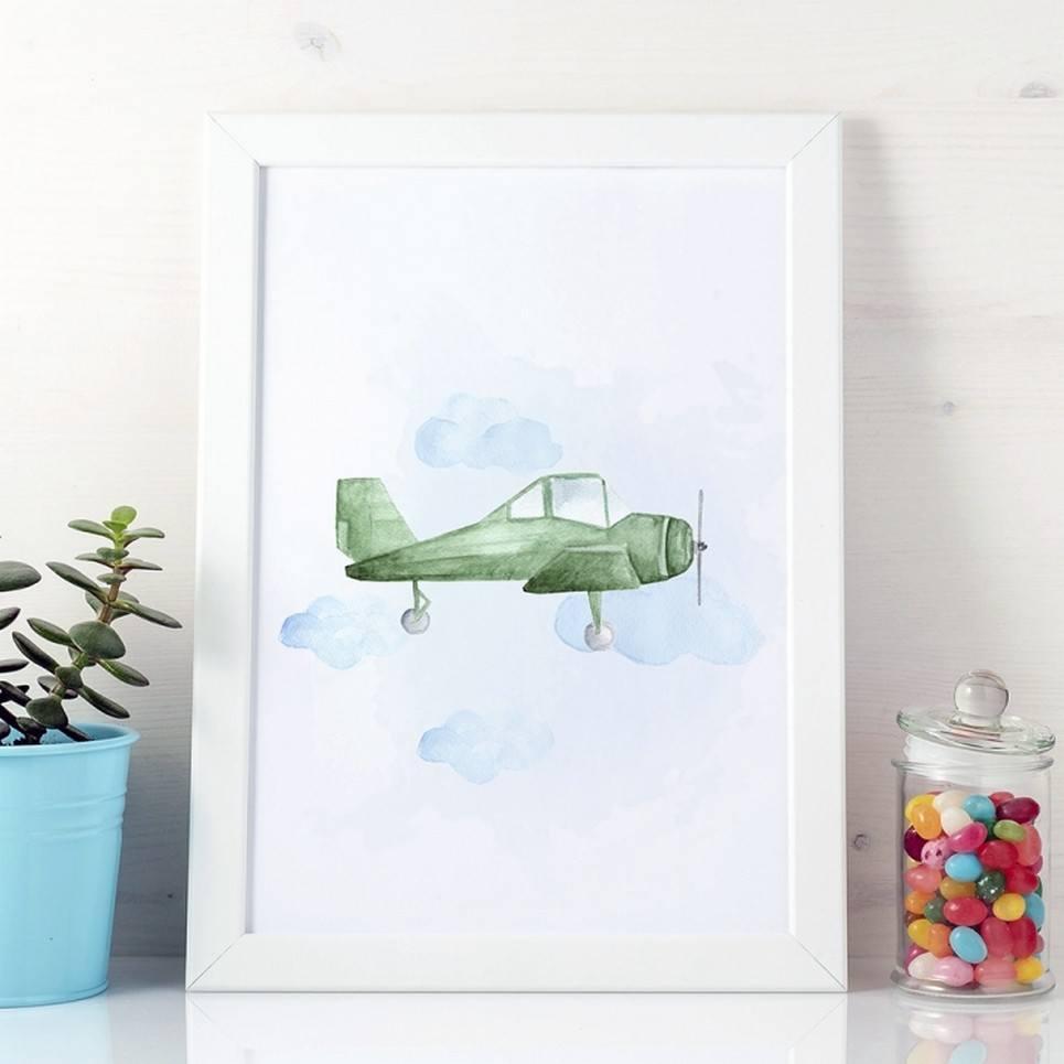 Light Aircraft Children's Poster