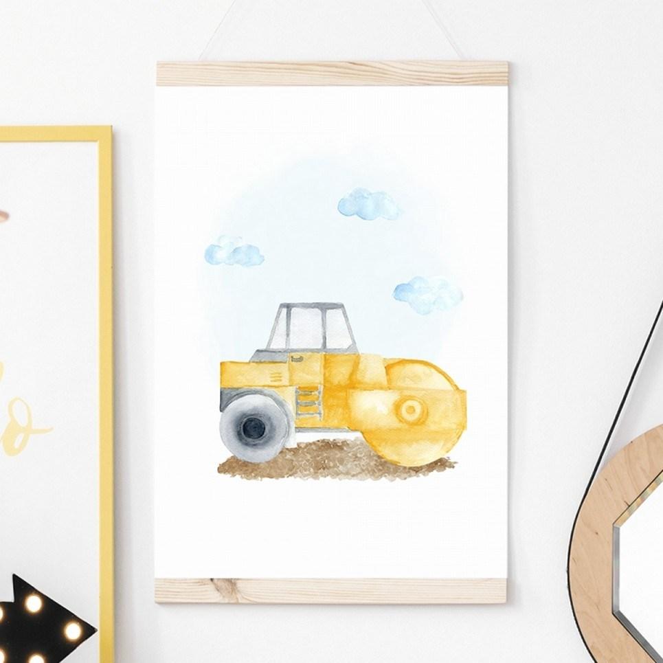 Roller Children's Poster